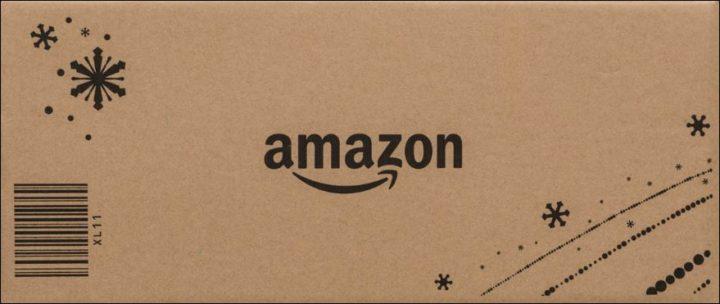 アマゾンのダンボール箱