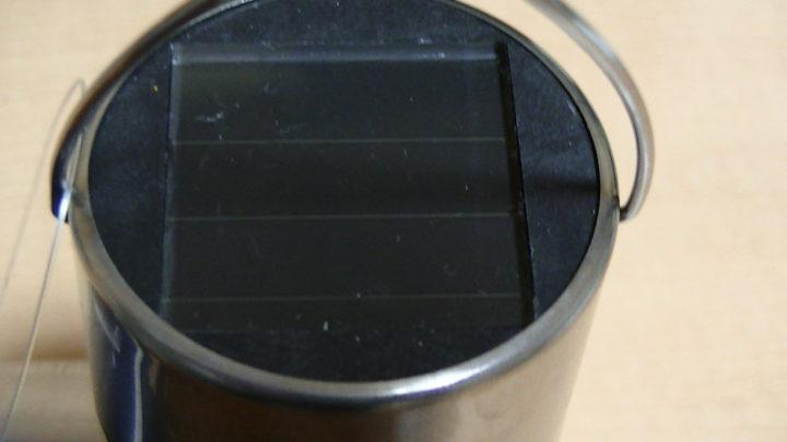 吊り下げ式 ソーラーライト